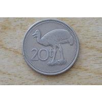 Папуа Новая Гвинея 20 тойя 1995