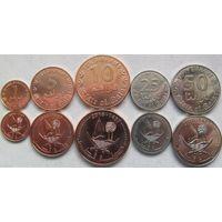 Катар набор 5 монет 2016 UNC