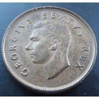 Южная Африка. 1/4 пенни 1952