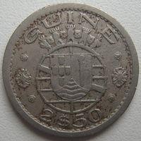 Гвинея-Биссау (Португальская Гвинея) 2,5 эскудо 1952 г. (d)