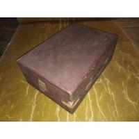Чемодан ящик коробка от патефона под реставрацию