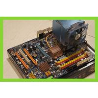 Комплект Мат.плата+4 ядерный процессор+кулер (опционально память и видеокарта)