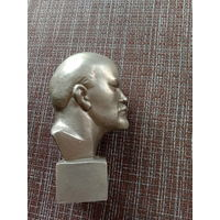 Бюст Ленин 14 см силумин