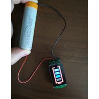 Индикатор уровня заряда батареи 3,7В