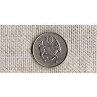 Ботсвана 10 тхебе 2002 /фауна//FV/