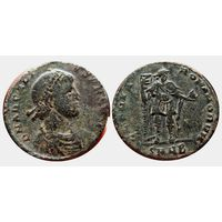 Римская империя, Аркадий, АЕ21мм, 383-408 годы, майорина.