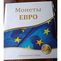"Альбом-папкадля монет ""Монеты Евро"". Формат Оптима."
