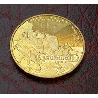 2 злотых 2010 Польша Грюнвальдская битва 1410-2010 (Grunwald, Kluszyn)