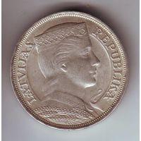 Латвия. 5 лат 1929 г.
