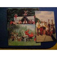 Календарик 19891 Ансамбль танца Украина