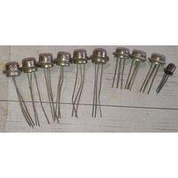 Транзисторы ГТ308, 311 313, 322. 10 шт. Одним лотом.