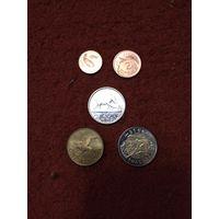 Малави набор 5 монет