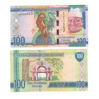 Банкнота Гамбия 100 даласи не датирована (2015) UNC ПРЕСС