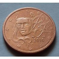 5 евроцентов, Франция 2010 г., AU