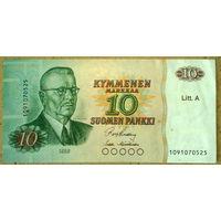 10 марок 1980г.