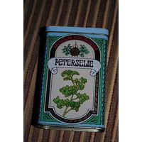 "Старинная/винтажная коробочка-коробонька: ""PETERSELIE"" -Amsterdam- от сухой петрушки."