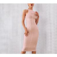 Бандажное утягивающее платье