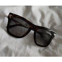 Брендовые солнцезащитные очки, люкс Картье Cartier, 100% оригинал, в идеале