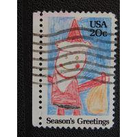 США 1984 г. Рождество.