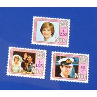 Ниуэ 1982 год. Королевская свадьба