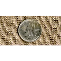 Канада 10 центов 1979 Корабль //(Ок)