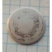 Египет 2 пиастра 1917г. Серебро 0,833