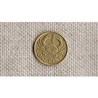 Сейшельские острова /Сейшелы/ 1 цент 2004 / Фауна/ //(GB)/