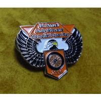 Знак байкерский тяжелый, Ралли Harley Davidson