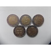 Монеты евро 2