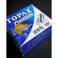 Лезвия Topaz Platinum для классического бритья