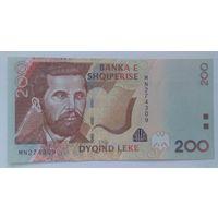 Албания 200 лек 2012 года UNC