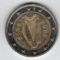 2 евро Ирландия 2008