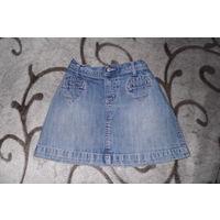 Юбка джинсовая рост 104