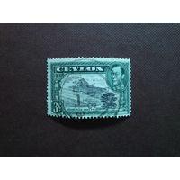 Британский Цейлон 1938/46 гг.Георг -VI.