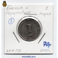 1 марка Босния и Герцеговина 2000 года (#1)