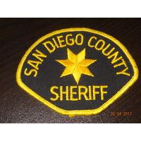 Шеврон полиции Сан Диего США