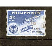 Филиппины.Ми-655 .25-я годовщина Филиппинских ВВС. 1960.