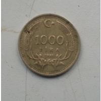 1000 лир 1991 г. Турция