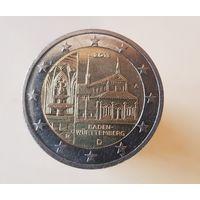 2 евро Германия 2013 A Федеральные земли Баден Вюрттенберг