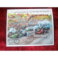 Нигер 1981. Блок. Гран при во Франции.