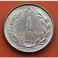 119-16 Турция, 1 лира 1973 г.
