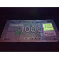 1000 ливров Ливан действующие