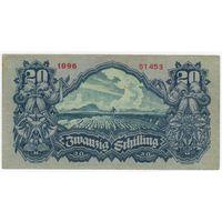 Австрия 20 шиллингов 1945  серия 1096 51453