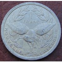 4543:  1 франк 2002 Новая Каледония