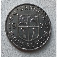 Маврикий 1 рупия, 1978 7-3-23