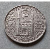 Индия 2 анны 1920 г. Хайдабарад