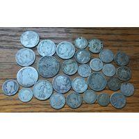 29 старых серебряных монет Европы! МЕГА лот