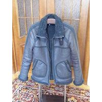 "Куртка ""Пилот"" - имитация дубленки. by H&M."