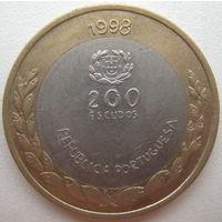 Португалия 200 эскудо 1998 г. Экспо-98 (d)