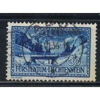 Лихтенштейн 1934 Пейзажи Река Замина Стандарт #133